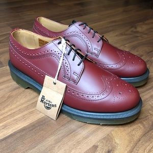 NEW Dr. Marten's Oxford Low Smooth Leather Boots